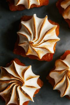 Mini Pumpkin Tarts w