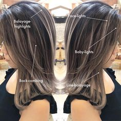 Balayage Hair Blonde, Brunette To Blonde, Bayalage, Balayage Highlights, Brown Hair With Silver Highlights, Brown Hair Colors, Hair Color And Cut, Haircut And Color, Hot Hair Styles