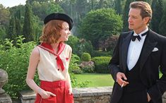 Love this sailor outfit and hat - Magic in the Moonlight Movie