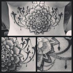 Dot tattoo...