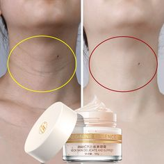 Six Peptides Neck Cream Anti Wrinkle Remove Neck Mask Whitening Firming for Neck Masks Skin Care Delicate and Slippery - aria Whitening Skin Care, Neck Wrinkles, Neck Cream, Skin Care Cream, Skin Firming, Wrinkle Remover, Anti Wrinkle, Face Skin, Beauty Skin
