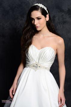 eden bridal go9ld 2014 wedding gown