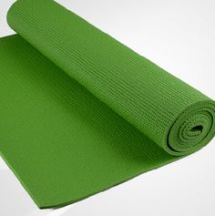 Hot green PVC YOGA MAT from yogaers.com