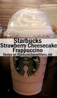 vanilla frappe + white chocolate syrup + cinnamon syrup + strawberry syrup (sub raspberry syrup??) (maybe blend in whipped cream, too??)