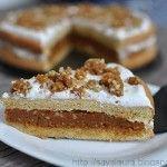 Tort caramel | Retete culinare cu Laura Sava RECIPE
