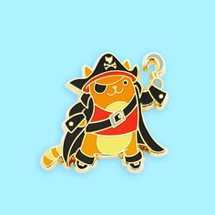 Pirate Cat by Pinsanity! #arrrgh #cats #pirates #piratecat #enamelpin #pingame #pinstagram #pincollecting #lapelpin #cute #cute😍 #kitties #amazonprime #amazonexclusive