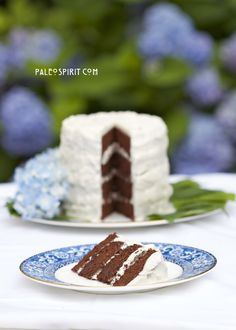 Paleo Spirit:: Paleo Chocolate Birthday Cake with Coconut Honey Frosting  Makes 24 cupcakes; bake 18 minutes.