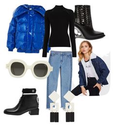 """""""Chick"""" by crissmiss on Polyvore featuring Vetements, Alexander McQueen, Monki and MANGO"""