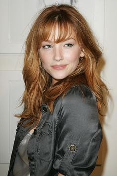 Haley Bennett's strawberry blonde
