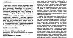 Az előző bejegyzésemben egy 2000. szeptemberi A tanító  folyóiratban megjelent cikket tettem közzé, hogyan is telhetnek az első napok az... Elsa