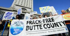 Organizers with Frack-Free Butte County rally support for Measure E. (Photo: Frack-Free Butte County/Facebook)
