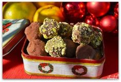 Chocolate truffles with rum – party recipe book