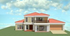 House Plans With Photos, My House Plans, Village House Design, Village Houses, Bedroom Floor Plans, My Dream Home, Dream Homes, Style At Home, Mansions