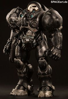 StarCraft: Terran Space Marine Jim Raynor, Deluxe-Figur (voll beweglich) ... https://spaceart.de/produkte/stc003.php