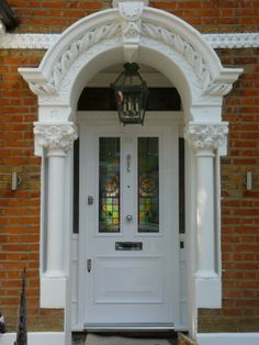 The London Door Company \'Storm Blue\' paint colour - Gloss | front ...