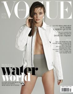 Miranda Kerr // Vogue Korea // shot by Eric Guillemain // styled for the shoot by Ye Young // Hair courtesy of Harry Josh at Jed Root, makeup by hung at The Wall Group