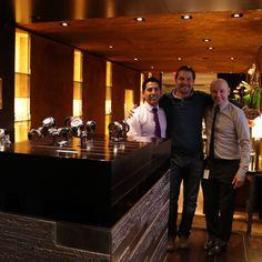 @Hublot #Madison #NewYork with Gabriel, Robert and my lovely #RaptorPark