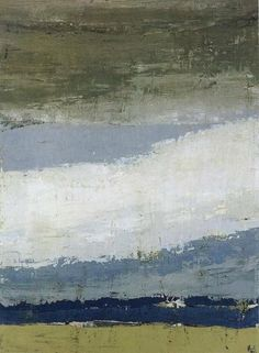 The Sky of Figure  -  Nicolas de Stael 1952   French-Russian 1914-1955      Oil on canvas, 100x73cm