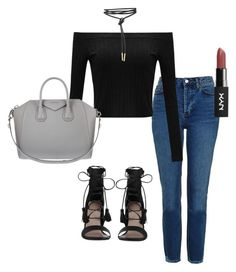 """""""Night out"""" by itsmaggie4 on Polyvore featuring Topshop, Zimmermann and Givenchy"""