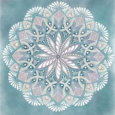 Inspiration hits when a beautiful sunny day ends in a freak blizzard 🙄. Mandala Drawing, Mandala Painting, Dot Painting, Pottery Painting, Ceramic Painting, Stone Painting, Ceramic Art, Mandala Design, Motifs Aztèques