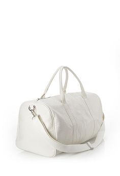 Faux Leather Duffle Bag | Forever 21 - 1000055555