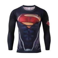 Marvel Compression Bodybuilding Long Sleeve Tshirt https://www.bodybuildingtanks.com