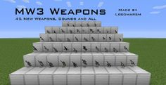 New post (MW3 Weapons Pack for Flan's Mod 1.6.2/1.6.4) has been published on MW3 Weapons Pack for Flan's Mod 1.6.2/1.6.4 - Minecraft Resource Packs