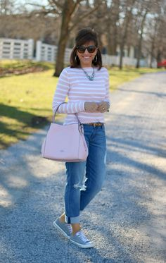 Spring Style: Stripes and Leopard Print