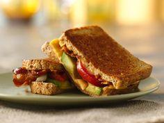 Bacon, Tomato & Avocado Grilled Cheese