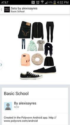 Basic School Items 2014-2015