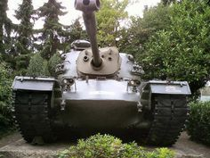 Photo album of a Tank Patton - WalkAround - The Patton is a medium tank that was designed in the United States - English Tank Warfare, Self Propelled Artillery, Patton Tank, M48, Tank Armor, Tank Destroyer, Tank You, Armored Fighting Vehicle, Military Pictures