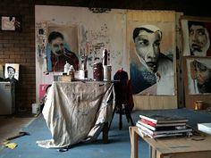 Daniel O'Toole (a.k.a. Ears)'s Studio.  ॐ}*{ॐ