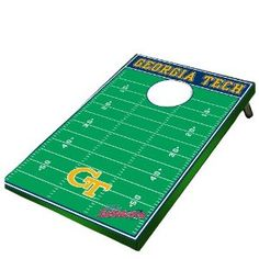 who wouldnt want a Wild Sales Georgia Tech Yellow Jackets Tailgate Toss