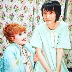私、前からファンだったの。のんちゃん可愛い今日、初めてお会いできて嬉しかった!  #黒柳徹子#トットちゃん #tetsukokuroyanagi #tottochan
