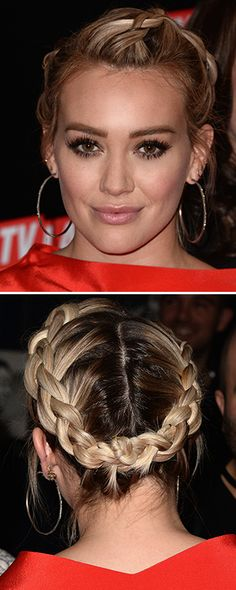 OBSESSED with Hilary Duff's crown braid. For more hair inspiration, watch full episodes of Younger on the TV Land app: http://www.tvland.com/app