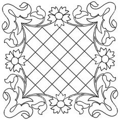 Hand Quilting Designs from Vintage Embroidery Transfers – Q is for Quilter Hungarian Embroidery, Learn Embroidery, Hand Embroidery Patterns, Vintage Embroidery, Quilt Patterns, Cushion Embroidery, Crewel Embroidery, Hand Quilting Designs, Sewing Lace