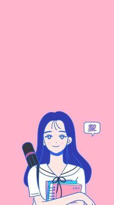 New drawing pencil girl anime art Ideas - pencil-drawings Teenager Wallpaper, Teen Wallpaper, Couple Wallpaper, Kawaii Wallpaper, Cute Illustration, Character Illustration, Digital Illustration, Teen Web, Teen Images