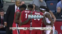 WATCH: Georgia Accidently Allows Auburn Player Into Huddle