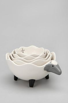 Sheep Measuring Cup Set - Mutfak ölçü seti