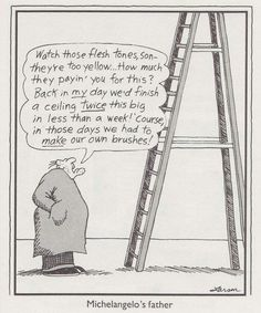 """""""The Far Side"""" by Gary Larson. Some things just never change. Gary Larson Comics, Gary Larson Cartoons, Cartoon Jokes, Funny Cartoons, Funny Comics, Far Side Cartoons, Far Side Comics, The Far Side Gallery, Gary Larson Far Side"""