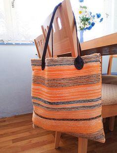 Tkaná taška oranž Straw Bag, Bags, Backpack, Handbags, Bag, Totes, Hand Bags