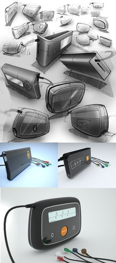 SketchBook by Joshua Harris, via Behance