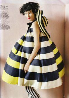 "Image for ""Vogue UK"" April 2011 by English photographer Tim Walker. via faking fashion"