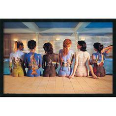 Amanti Art Pink Floyd Back Catalog Framed Photographic Print