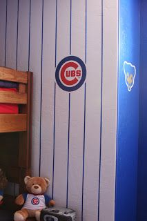 Bedroom paint designs for boys - On Pinterest Chicago Cubs Girls Bedroom And Chicago Cubs Baseball
