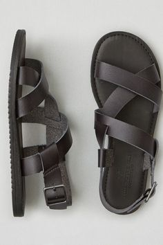 Mens Sandals For Walking Mens Sandals Nike 12 Black Sandals, Leather Sandals, Men Sandals, American Eagle Shoes, Justin Boots, Mens Outfitters, Slingback Sandal, Fashion Boots, Fashion Sandals