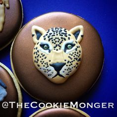 Leopard  Cookies ~ The CookieMonger ~ We can turn any idea into awesome cookies!  Email thecookiemonger@outlook.com.