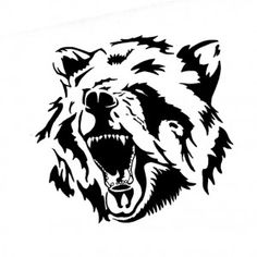 Эскизы тату медведь   ТриТатушки
