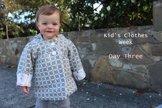 KCW day 3 - Little Uptown Girl jacket.  Blogged at www.sewpony.blogspot.com
