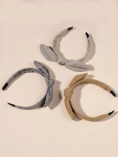 Search head band | SHEIN USA Hair Hoops, Swan, Headbands, Knots, Hair Accessories, Search, Bracelets, Clothes, Collection